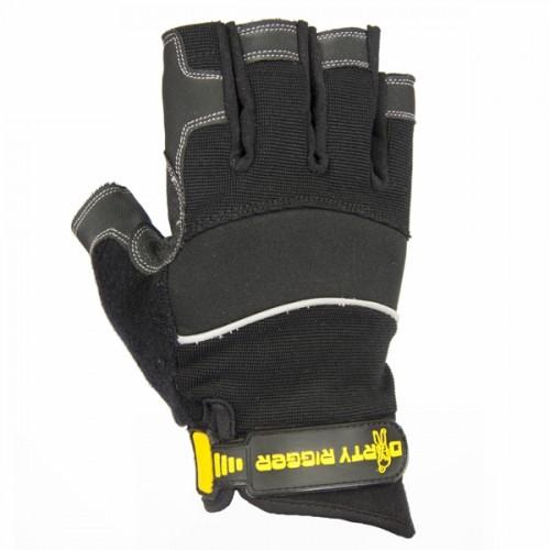 Dirty Rigger Comfort Fit Fingerless Rigger Gloves