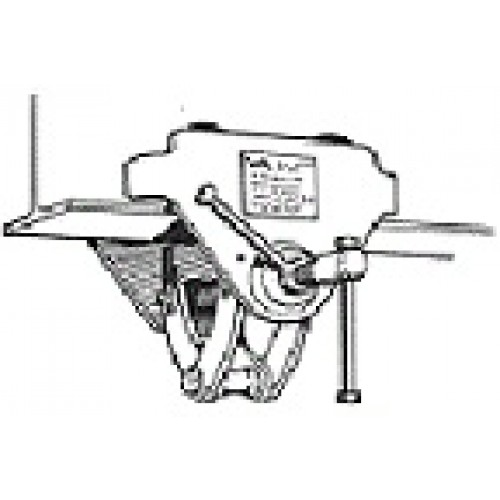 Intergral Push Trolley and Girder Clamp