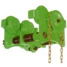 Close Headroom Geared Girder Trolley