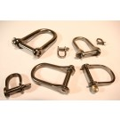Stainless Steel Dee Shackle