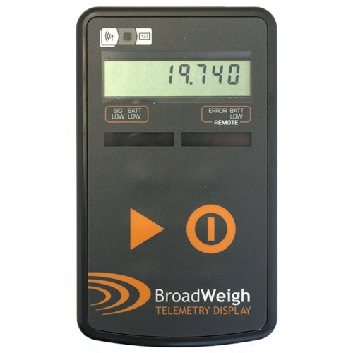 Broadweigh Wireless Load Cell Shackle Hand Held Display