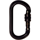 Skylotec Black Aluminium Screw Gate Carabiner H-035-SW