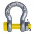 Safety Bow Shackle Industrial Yellow Pin Grade S