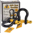 Black Rat 4WD Rated bow Shackle